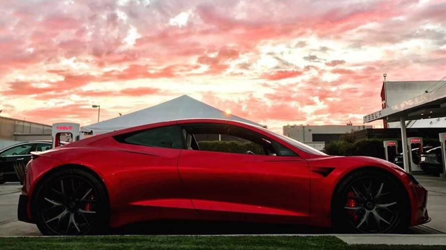 New Images of Next-Gen Tesla Roadster Surface