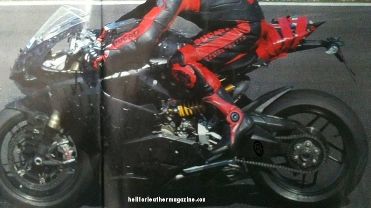 Spy Photo: 2012 Ducati superbike hits the road