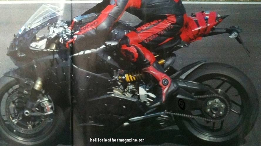 Spy Photo: 2012 Ducati superbike hits the road