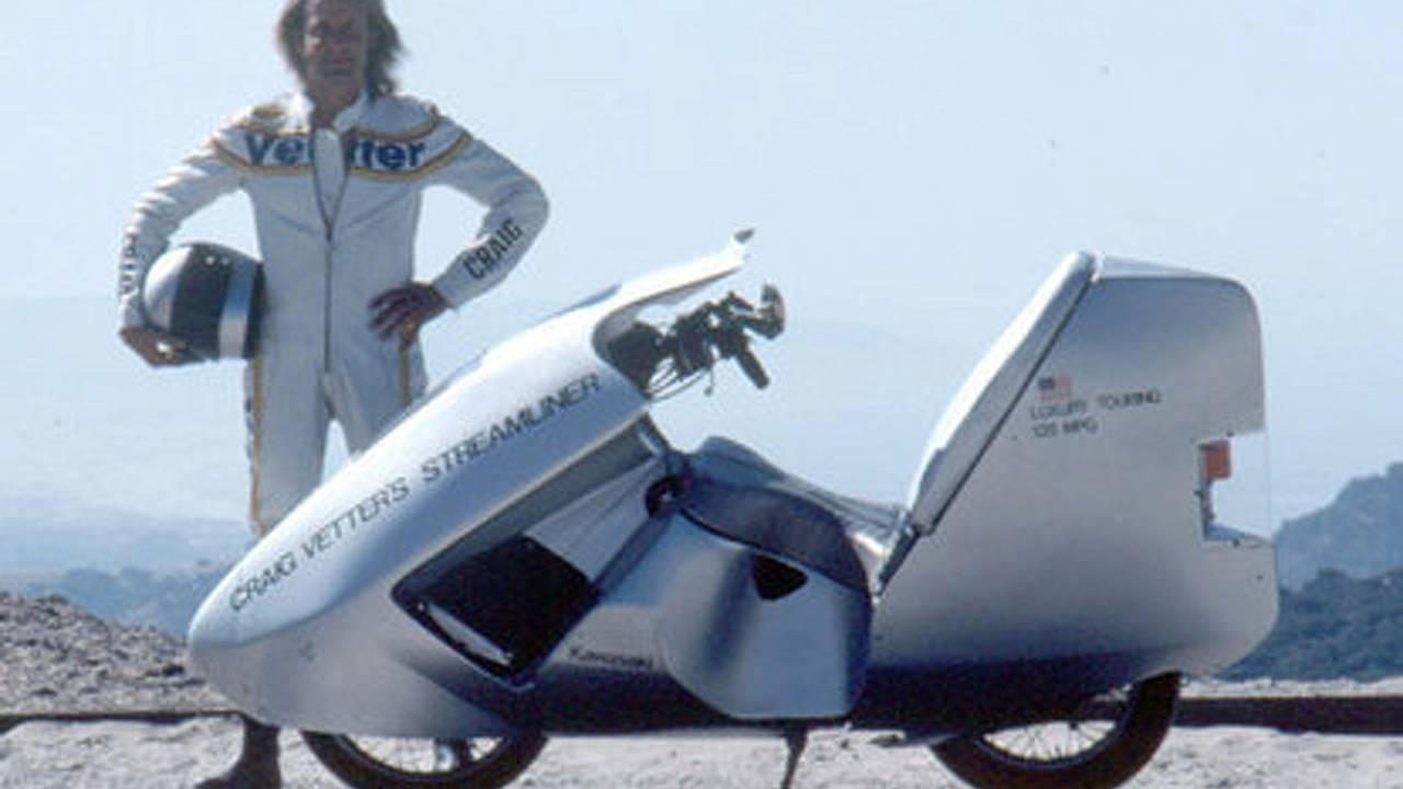 Streamlining returns to motorcycle racing