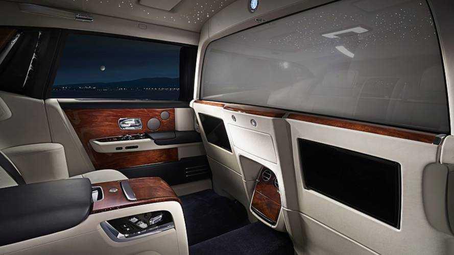 Rolls-Royce'dan Phantom'a özel 'Mahremiyet Bölmesi'