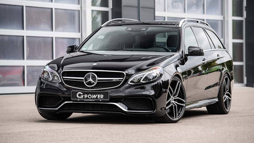 This 800-HP Mercedes estate can carry groceries to 62 mph in 3.1 seconds