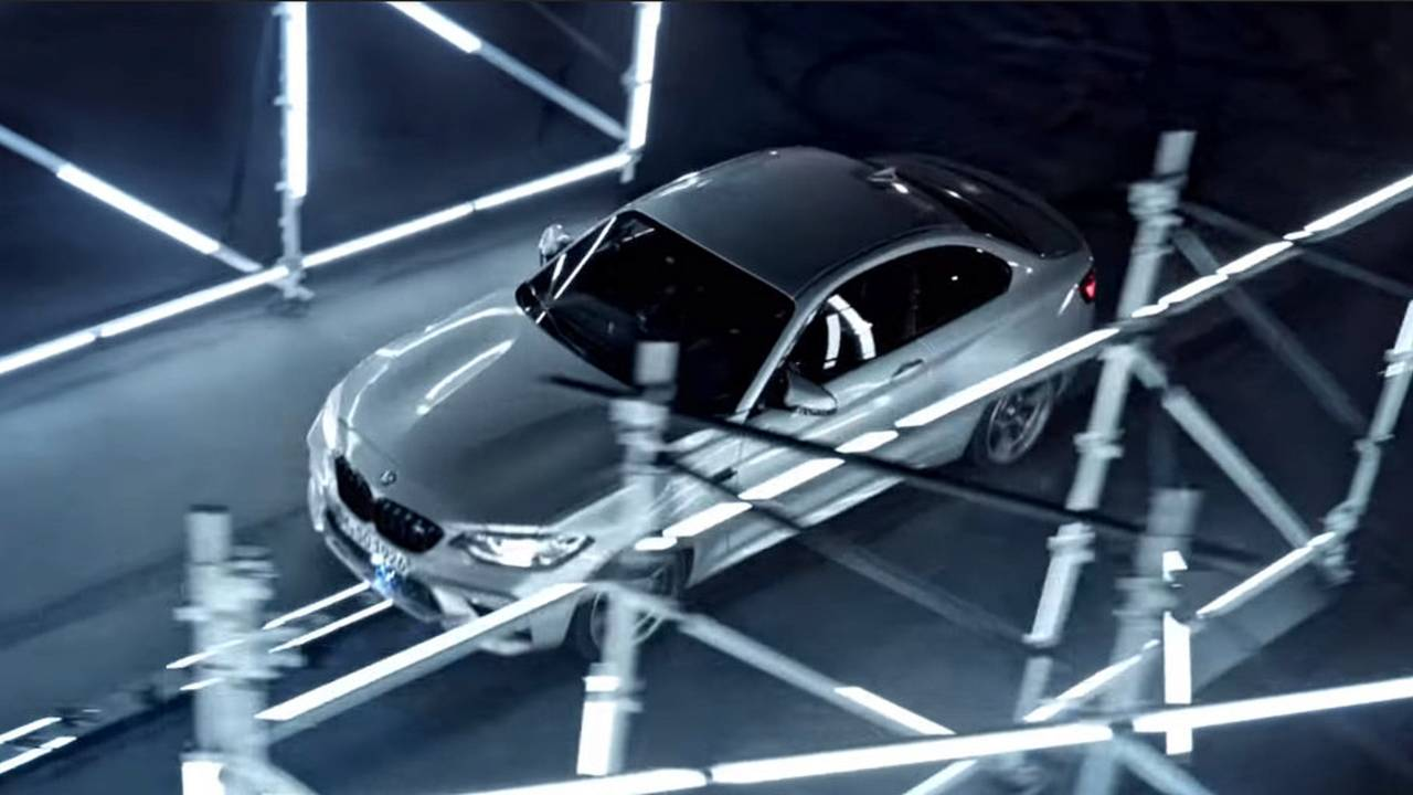 BMW M2 Competition laser record