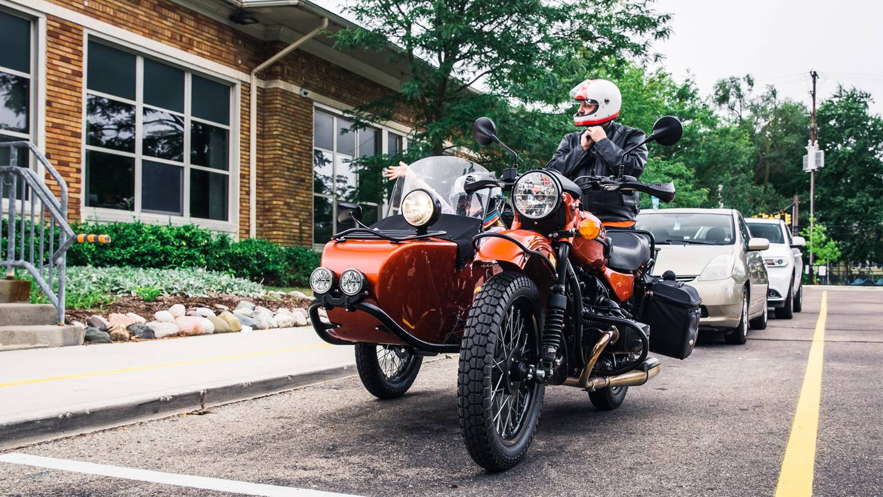 Ural is the Ultimate Dadbike