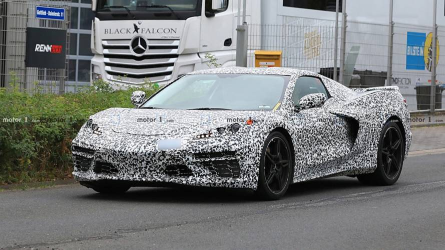 Mid Engined Chevy Corvette Caught In Most Revealing Spy