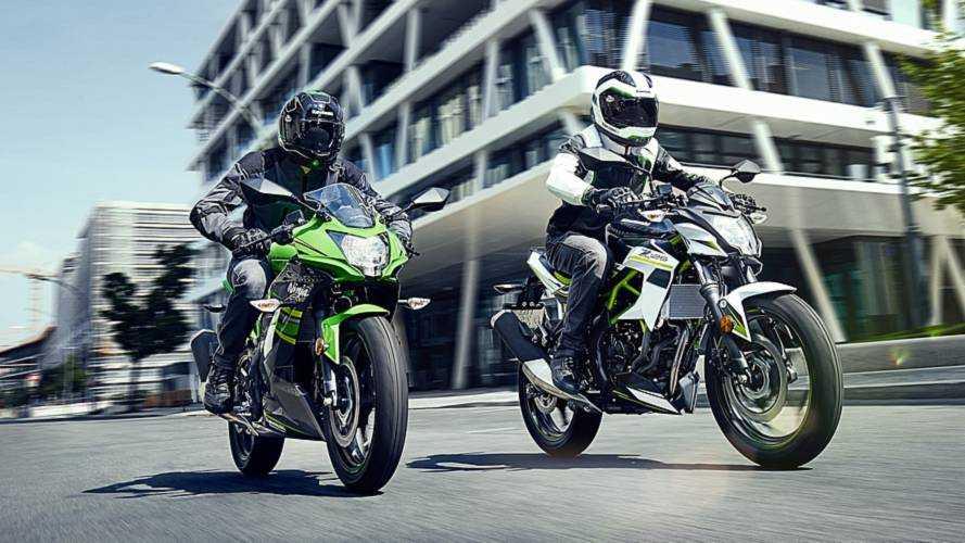 Kawasaki apresentará as novas Ninja 125 e Z125 no Salão de Colônia