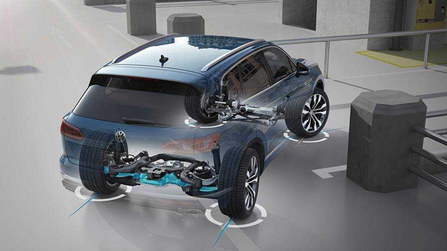 Volkswagen Touareg 2018, ayudas a la conducción