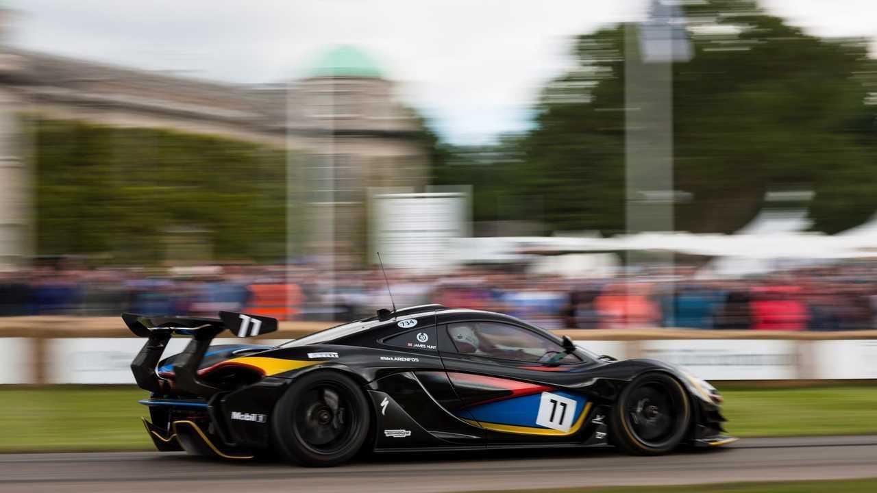 McLaren P1 GTR James Hunt Edition
