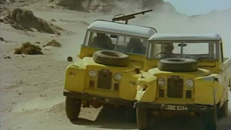 Classic Cars on Film: Land Rovers in Killer Force