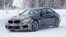 BMW M5 Facelift (2020) verliert auf neuen Fotos an Tarnung