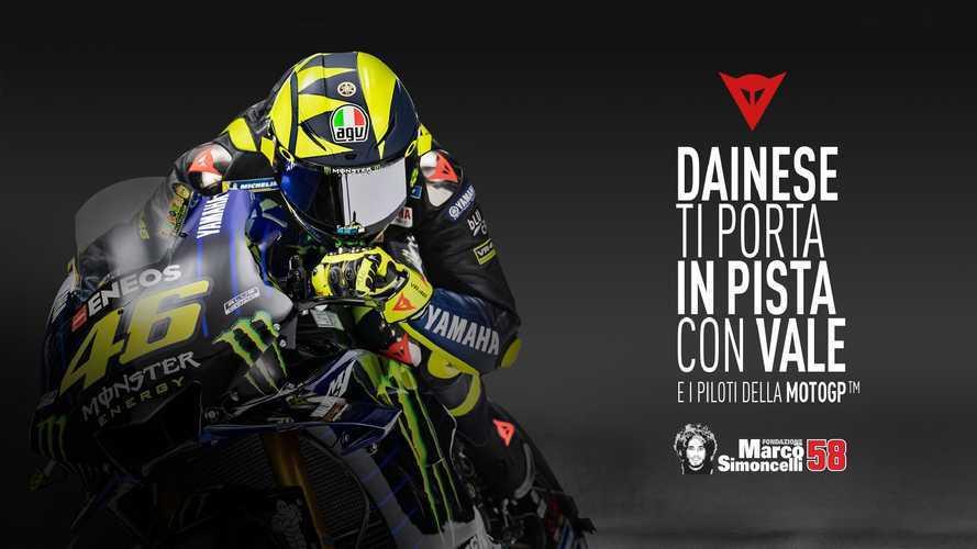 Dainese Riding Master: in pista con Valentino Rossi