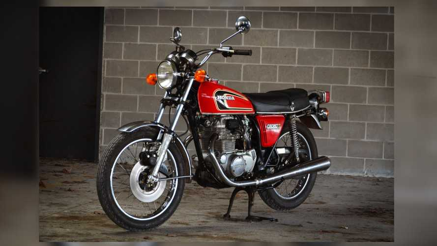 1976 Honda CB360T Up For Grabs At No Reserve