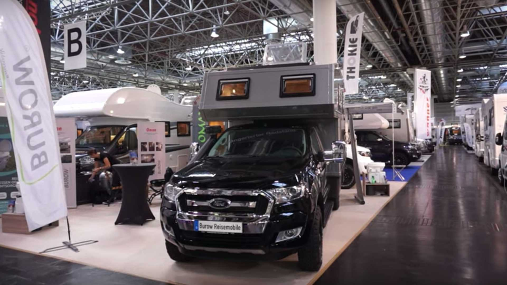 Burow Ford Ranger Oman 4x4 Camper Makes Clever Use Of Space