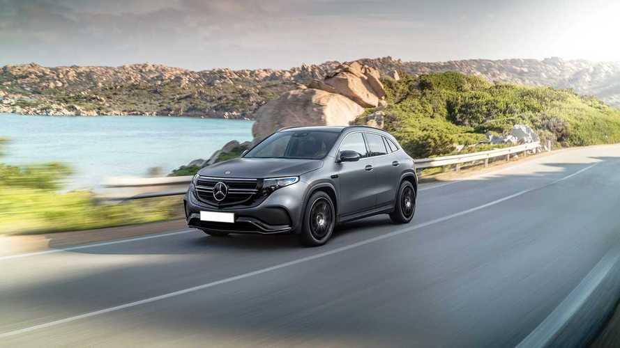 Imagina cómo será el Mercedes-Benz EQA con este render