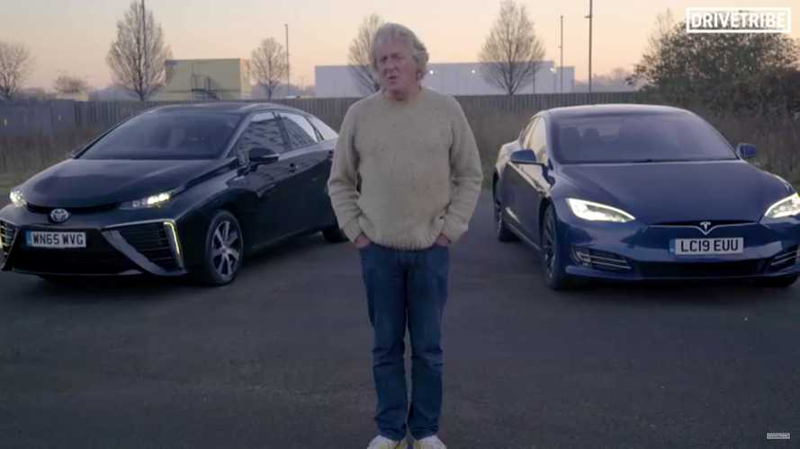 James May Reviews His Tesla Model S 100D And Toyota Mirai