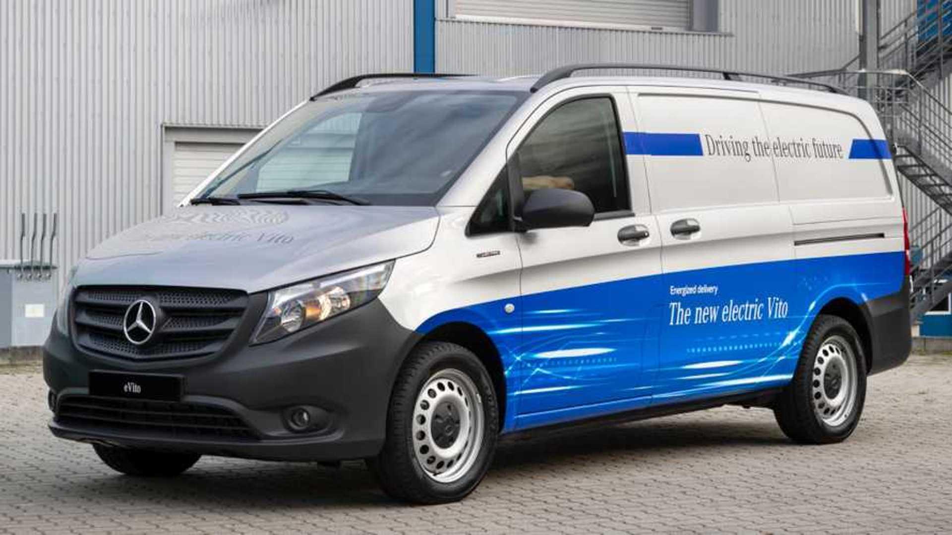 Mercedes' e-Vito electric van to cost almost £40,000 PLUS VAT