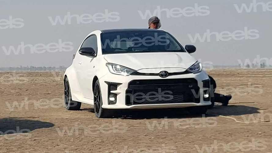 Toyota GR Yaris spy photos