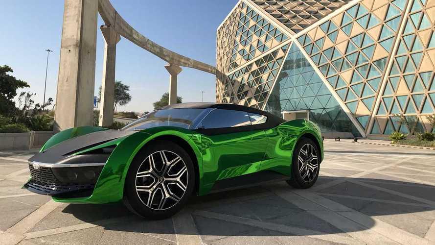 GFG Style 2030: un hipercarro conceptual para correr en el desierto