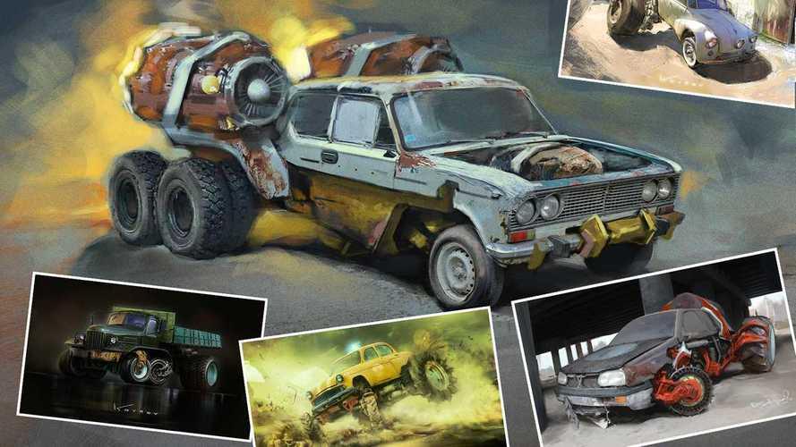 Посмотрите на 13 машин Судного дня, придуманных в Казахстане
