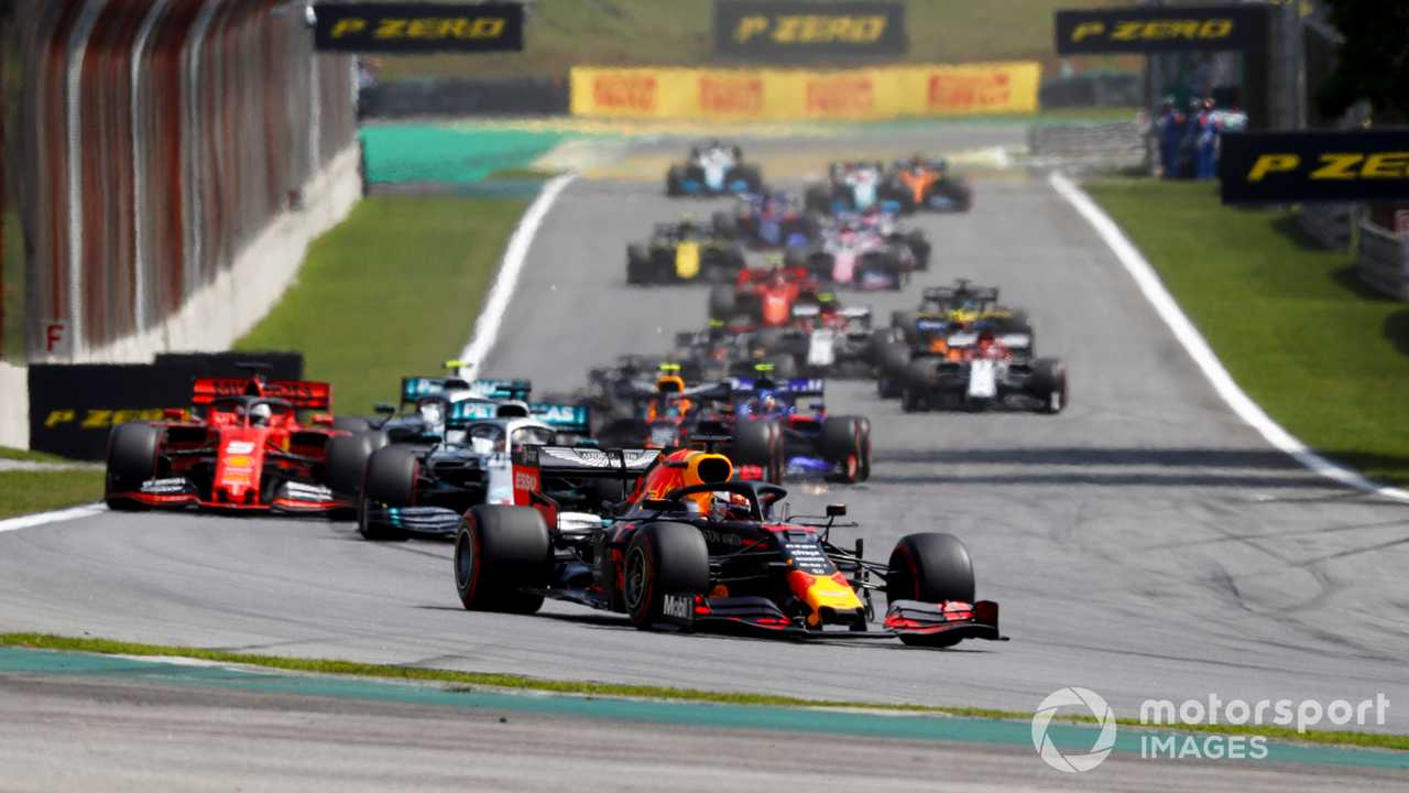 Brazilian GP 2019 start race