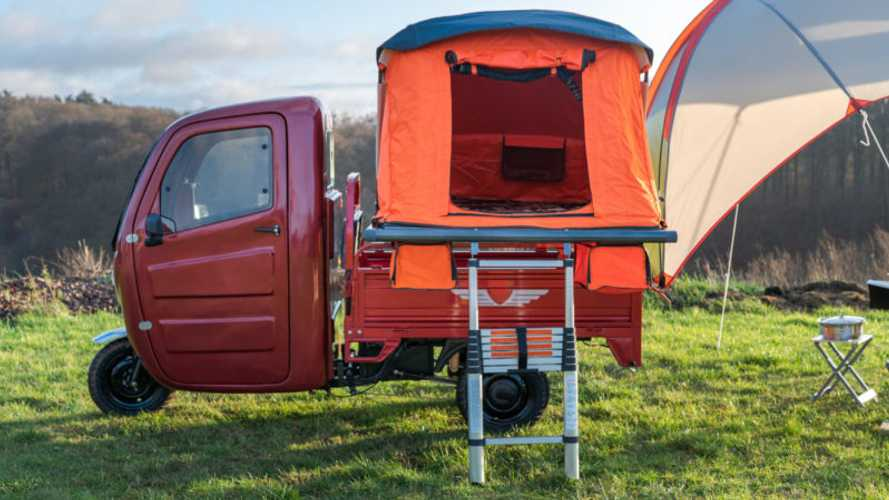 Go Moto-Glamping With The Elektro Frosch Camper