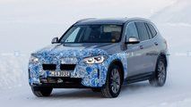 2021 BMW iX3 new spy photos