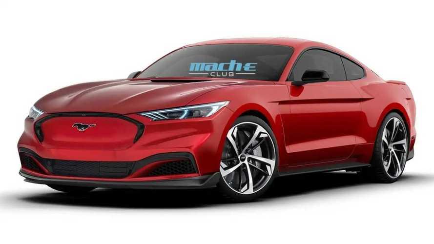 Ford Mustang Electric renderings