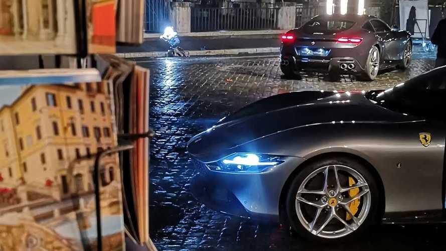 Ferrari Roma, il backstage