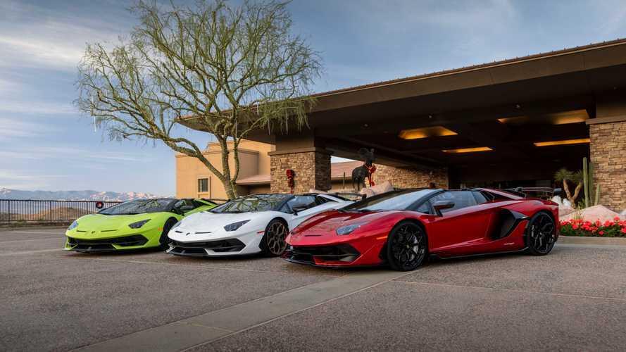 Lamborghini побила собственный рекорд продаж в 9-й раз подряд