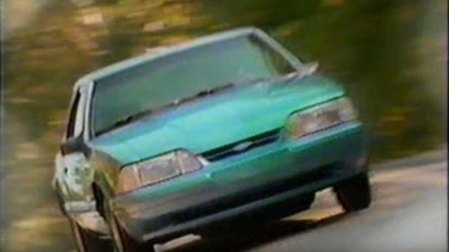 Watch This 1993 Ford Mustang Commercial