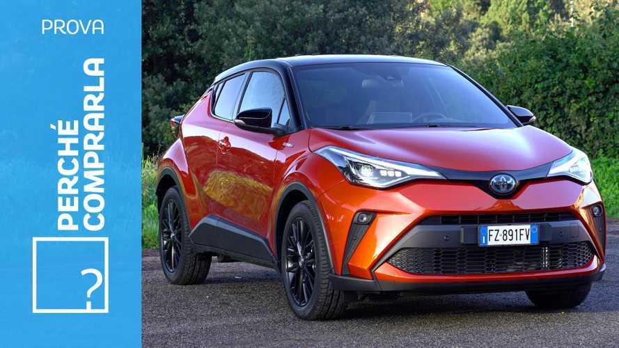 Toyota C-HR, perché comprarla e perché no