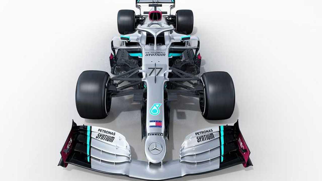 Mercedes AMG W11 F1 livery