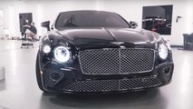 Bentley Continental GT paint defects