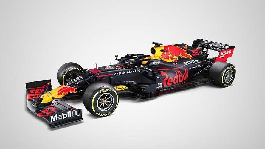Red Bull desvela su RB16, diseñado para ganar