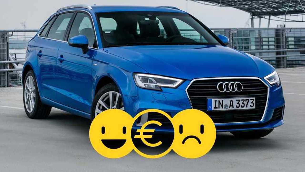 Audi A3 Sport Limited à 290 €/mois.