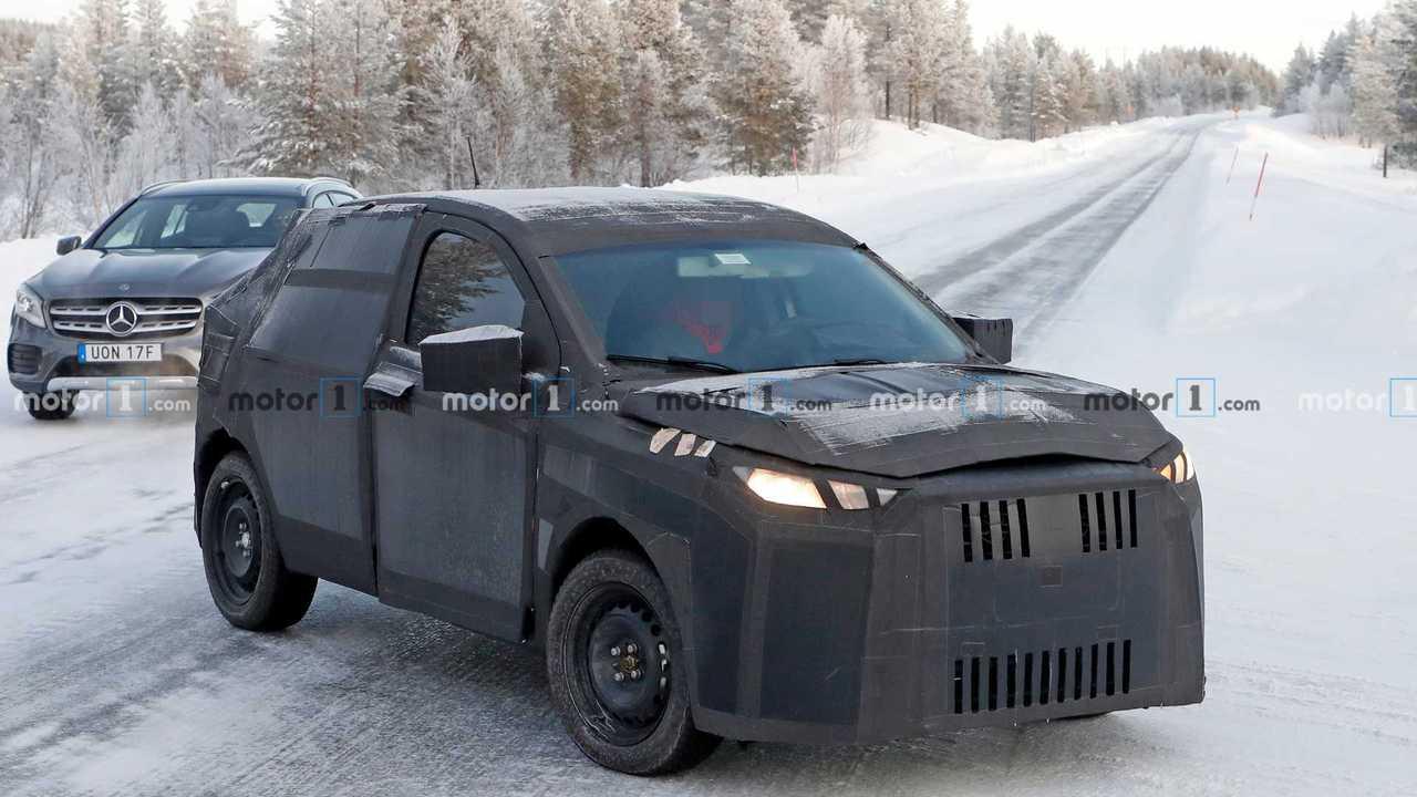 Fiat Argo SUV - Flagra na Europa