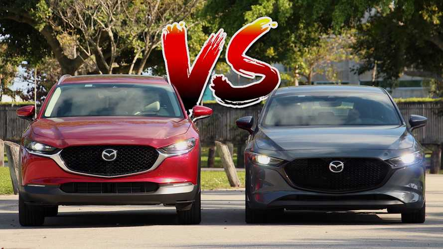 Mazda3 Hatchback Vs Mazda CX-30: What Are The Differences?