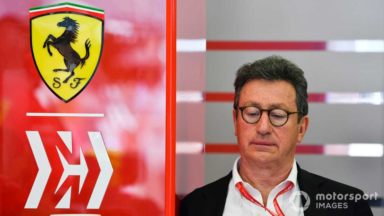 Louis Camilleri, Ferrari CEO at Bahrain GP 2019