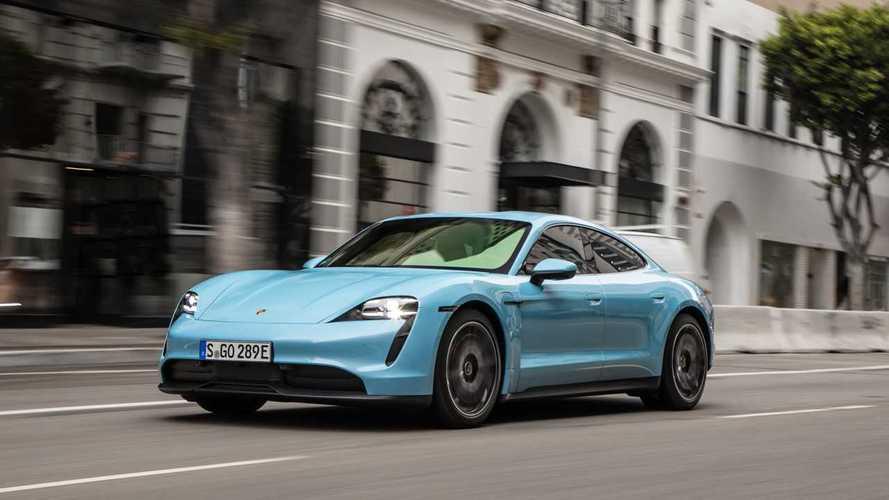 Porsche Taycan Sales In U.S. See Notable Improvement In Q2 2020