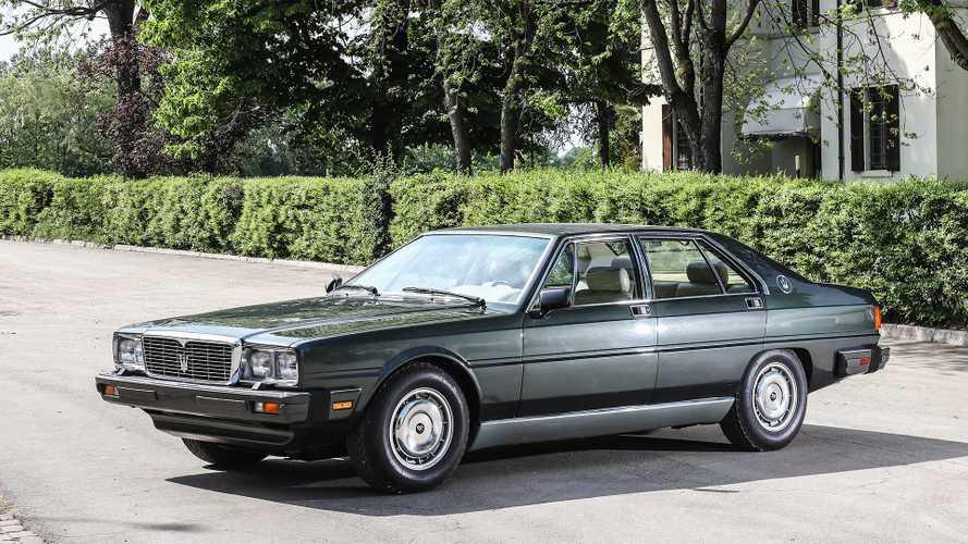 1979: Ein Maserati für den italienischen Staatspräsidenten