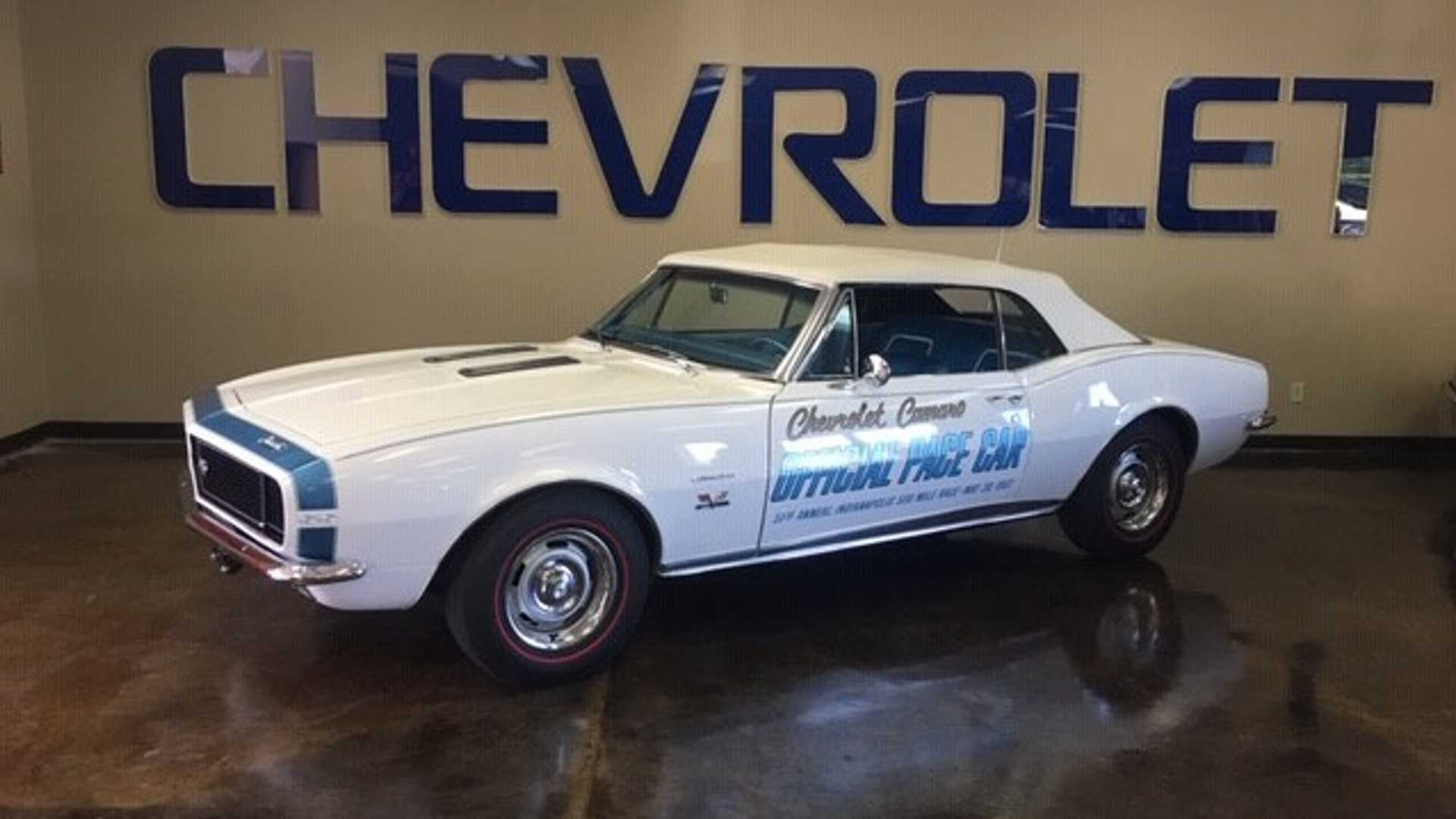 "[""Here's A Rare Chance To Own One-Of-Five 1967 Camaro Pace Cars""]"