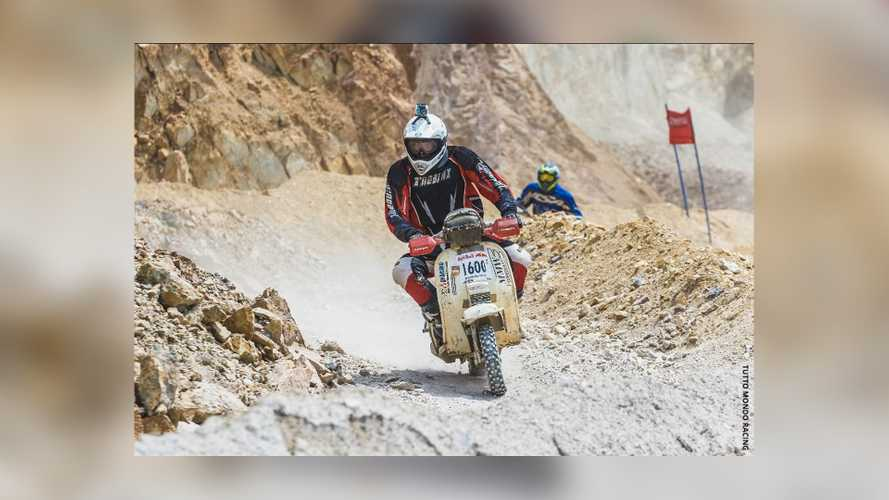 Racing Team Will Tackle The Mexican 1000 Rally On Vespas