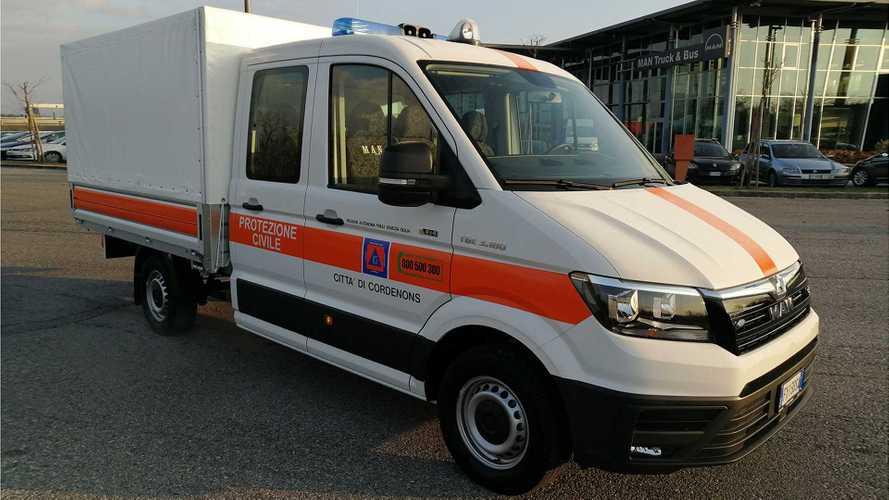 MAN TGE, una base ottimale per i mezzi di soccorso