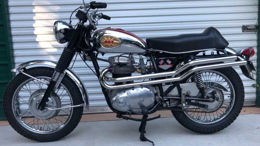 This Sweet 1970 BSA 650 Thunderbolt Is Calling Your Name