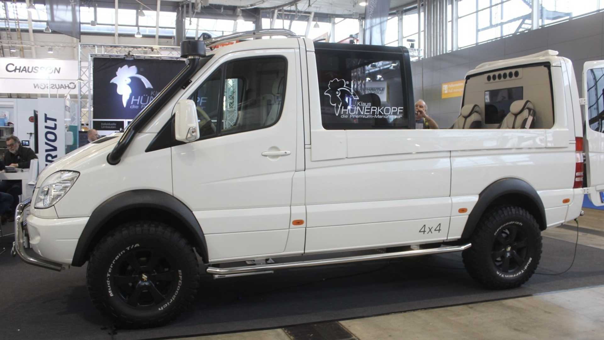 This Sprinter 4x4 convertible conversion is wrong, but oh so right