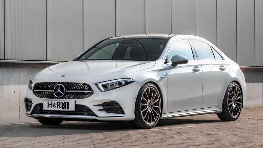 H&R-Sportfedern für die Mercedes A-Klasse Limousine