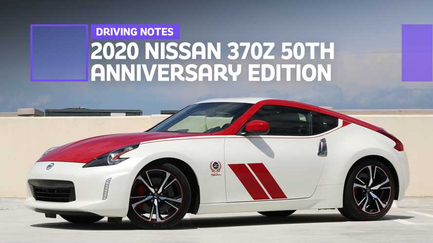 2020 Nissan 370Z 50th Anniversary Driving Notes: Un-Special Edition