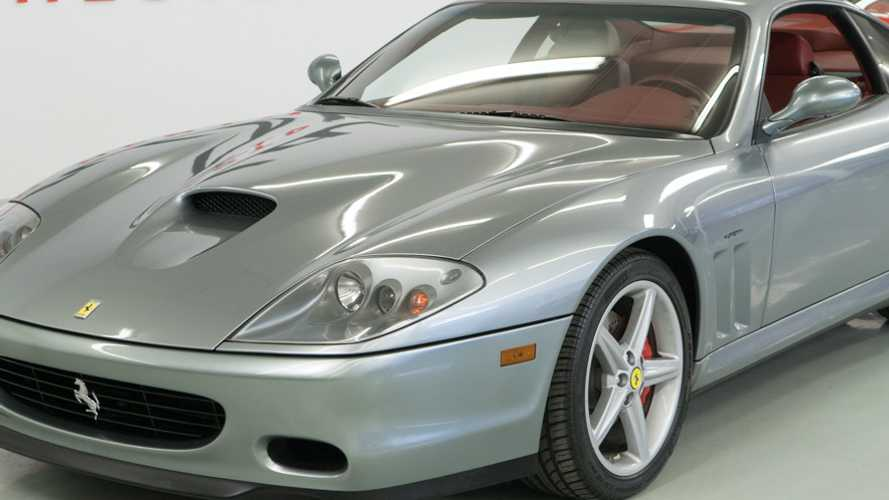 Own This Beautiful 2002 Ferrari 575 Maranello