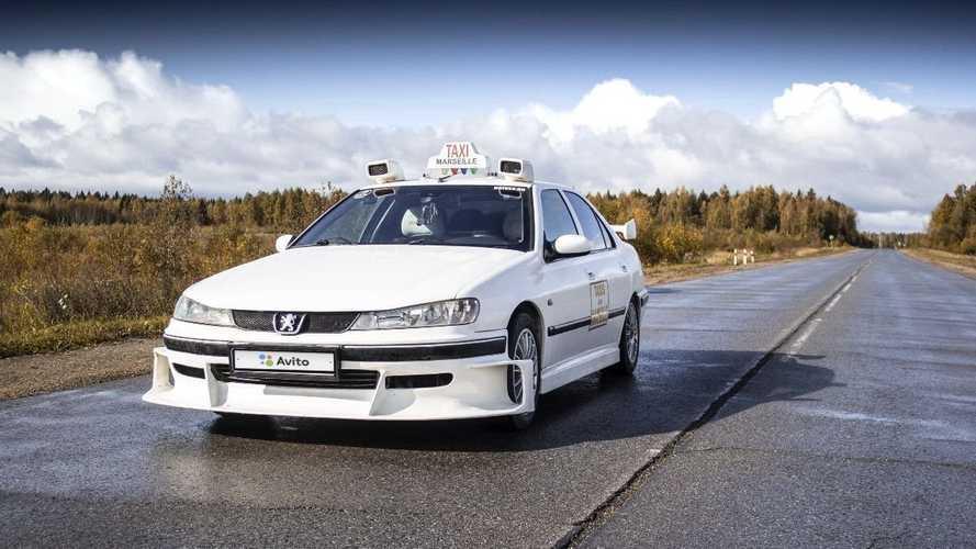 Este Peugeot 406, réplica de la película Taxi 2, ahora puede ser tuyo
