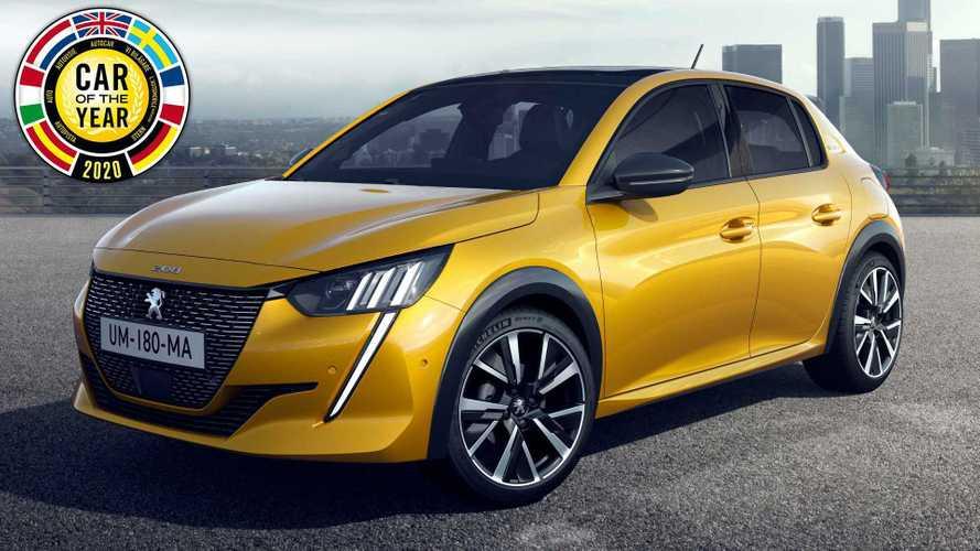 La Peugeot 208 è Auto dell'Anno 2020